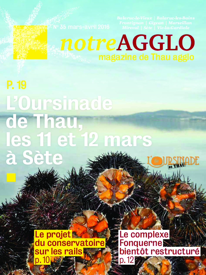 Magazine notre agglo mars-avril 2016