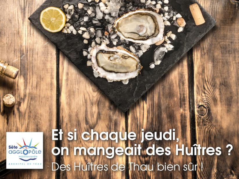 Catalogue producteurs huîtres de Thau