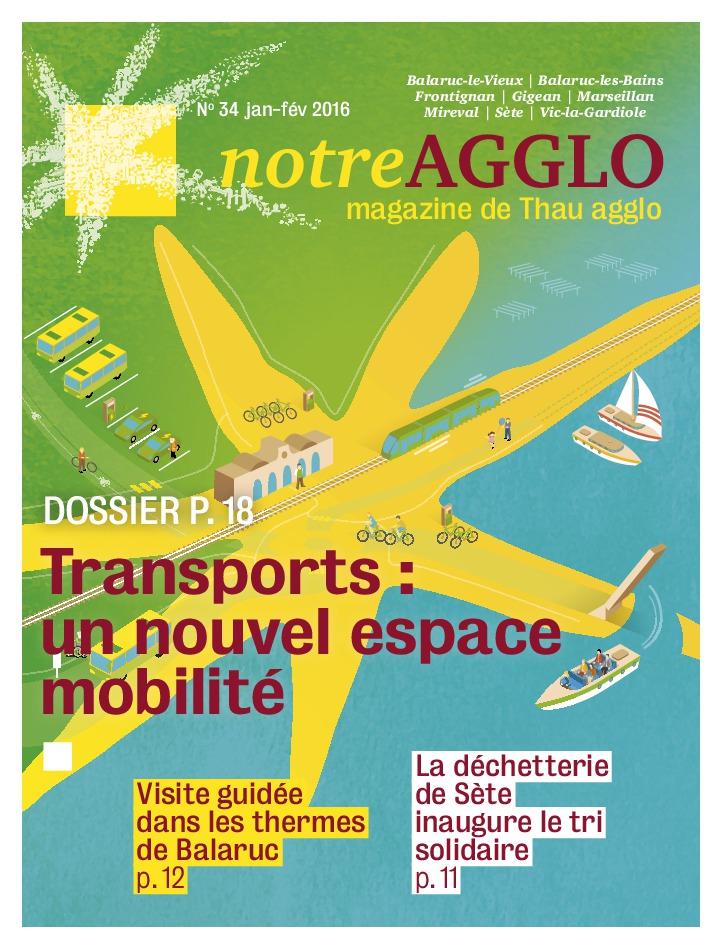 Magazine Notre agglo janvier-février 2016