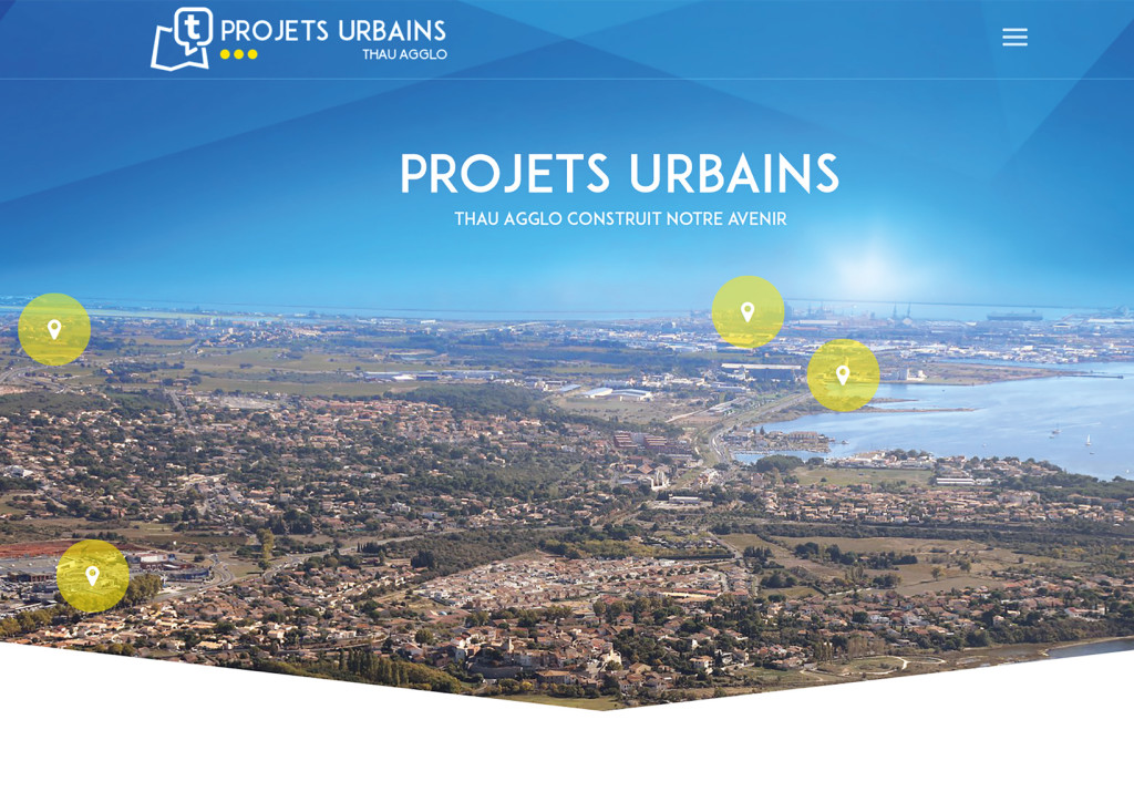 Site Internet Projets Urbains
