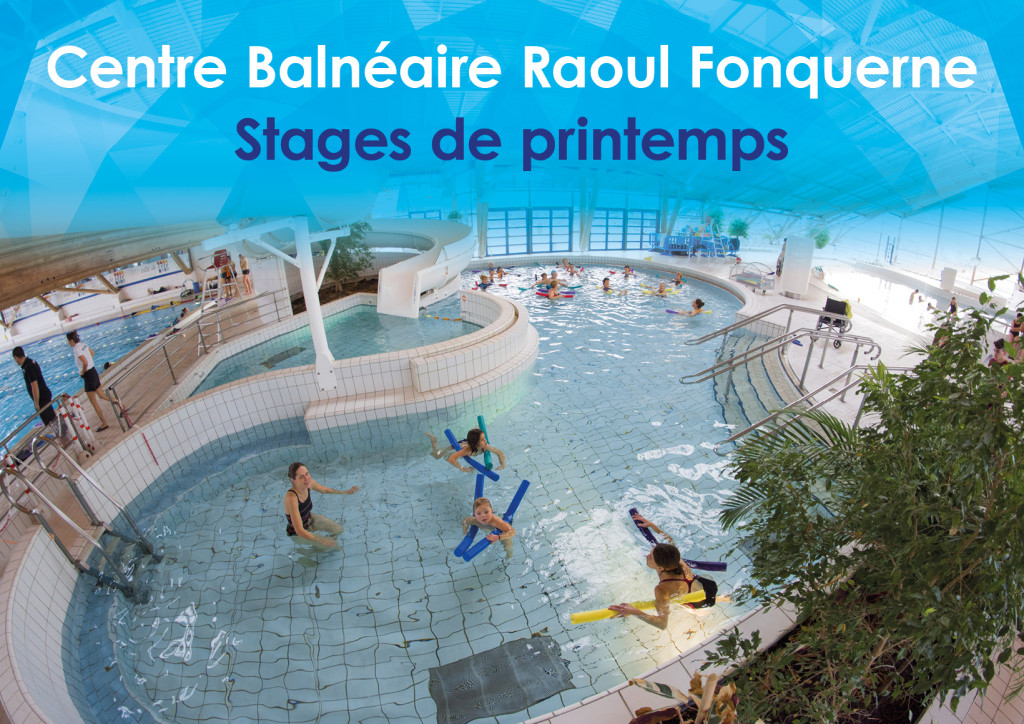 Piscine Fonquerne -Stages Printemps