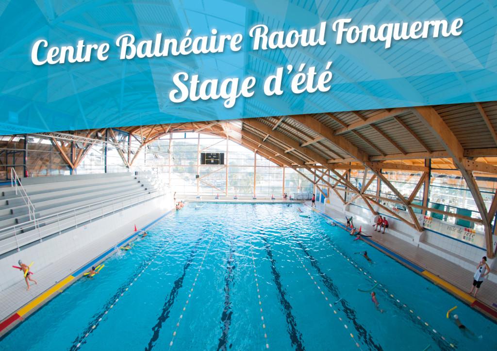 Centre aquatique Fonquerne – Stages d'été