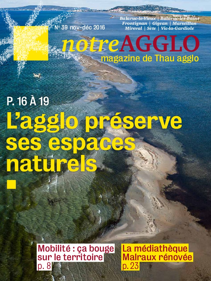 Magazine Notre Agglo Novembre Décembre 2016