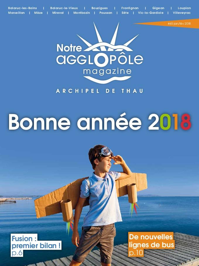 Magazine Notre agglopôle Janvier-Février 2018
