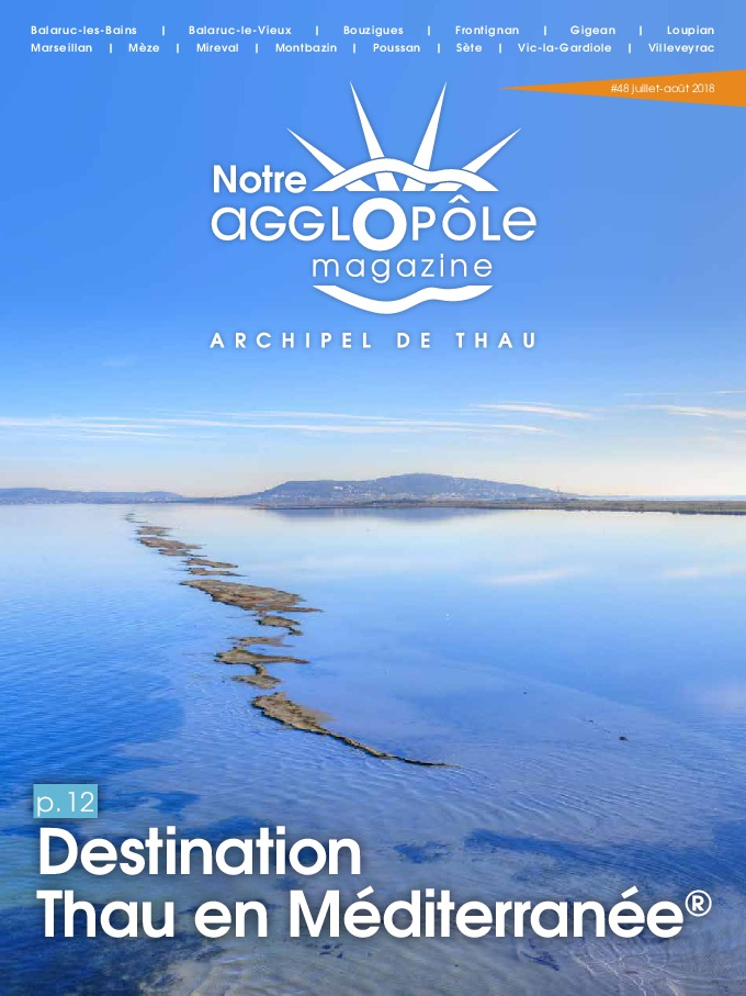 Magazine Notre agglopôle Juillet/Août 2018