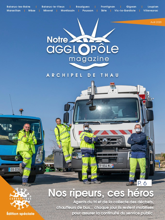 Magazine de Sète agglopôle Spécial covid 19