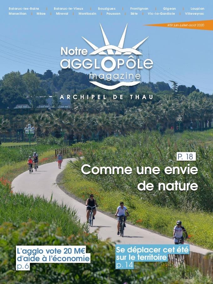 Magazine agglopôle Juin Juillet Août 2020