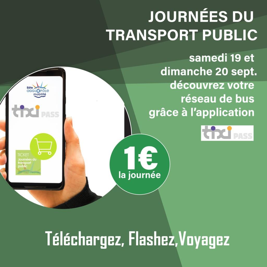 Bus à 1€ les 19 et 20 septembre 2020