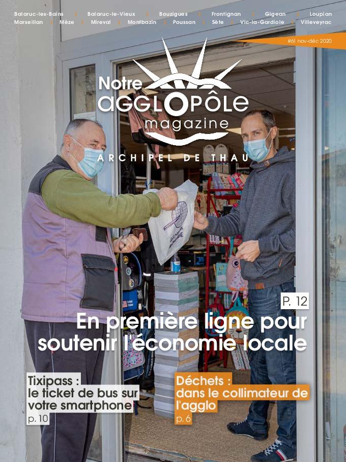 Magazine Notre agglopôle Novembre Décembre 2020