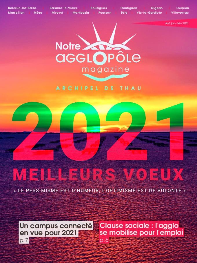 Magazine Notre agglopôle Janvier Février 2021