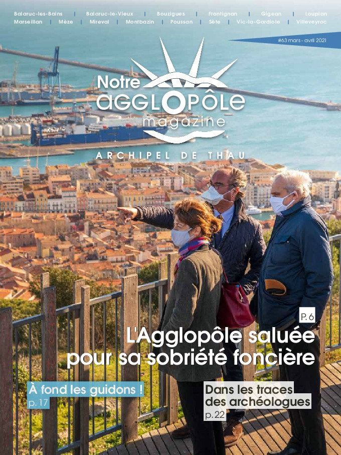 Magazine Sète agglopôle mars avril 2021