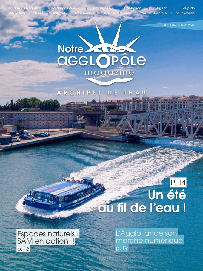 Magazine Notre agglopôle Juillet Août 2021