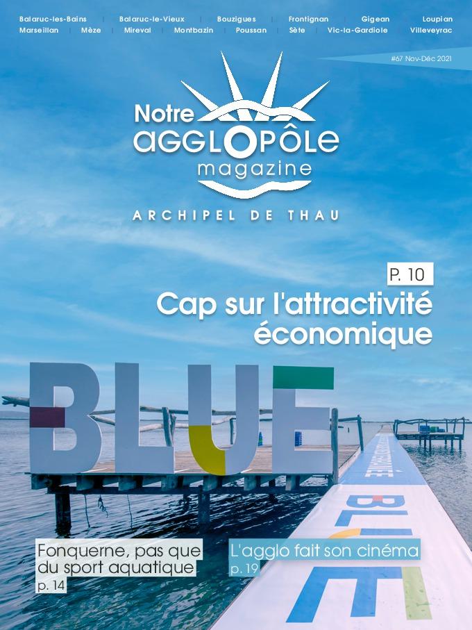 Magazine Notre agglopôle Novembre Décembre 2021